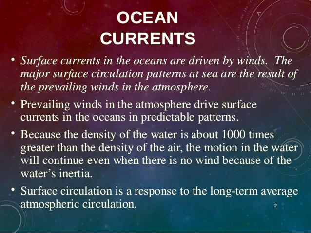 Currents, Gyres & Eddies