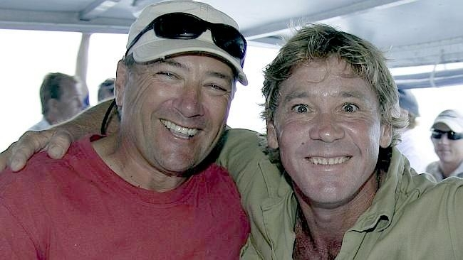 "Diver Pete West in one of the last photos of Steve Irwin, the beloved ""Crocodile Hunter"" who lost his life in a tragic stingray accident, is being remembered by his former cameraman and friend, Justin Lyons, in a new interview that details Irwin's final moments. Lyons worked as Irwin's ""right-hand man"" for more than 15 years of his career prior to his death in 2006, when he was stabbed in the chest by a stingray. Lyons details the moments prior to the incident and what brought the two to filming location in the first place. A clip of the interview can be viewed below. ""I remember it really, very clearly,"" Lyons said. ""We had been working on a documentary called 'Ocean's Deadliest,' basically looking at the deadliest creatures in the ocean ... we're about eight days in filming crocodiles and sea snakes I think and we were looking for tiger sharks. We'd had a bit of bad weather. Steve's like a caged tiger, when he couldn't do something, particularly on a boat, he said, 'Let's go and do something.'"" Lyons goes on to give details about the moment he realized Irwin was dead, telling the hosts his last words he heard him say were ""I'm dying."" Lyons clarifies that stingrays are traditionally calm sea animals, but may have mistaken Irwin's shadow for a tiger shark. ""We'd only been motoring for a few minutes and we found a massive stingray,"" he said. ""Stingrays are normally very calm, if they don't want you to be around them, they'll swim away. They're very fast swimmers ... I had the camera on and I thought this was going to be a great shot, it's going to be in the doc for sure, and then all of the sudden it propped on its front, and started stabbing wildly with its tail, hundreds of strikes in a few seconds."" ""It probably thought Steve's shadow was a tiger shark, which feeds on them very regularly,"" he continued. ""And so it started to attack him. I panned with the cameras, the stingray swam away. I didn't even know it had caused any damage, it wasn't until I panned the camera back that Steve was standing in a huge pool of blood that I realized something had gone wrong."""
