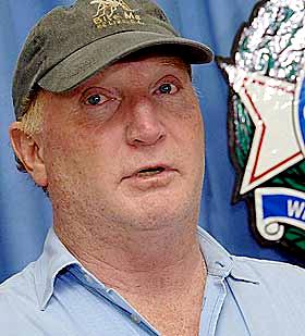 Steve Irwin's business manager and close friend John Stainton