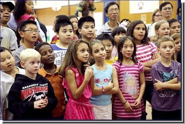 Elementary school assembly highlight in Grosse Pointe Park, MI