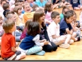 Elementary school assembly highlight in South Bend, IN