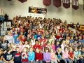 Elementary school assembly highlight in Grand Rapids, MI