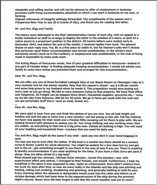 Mike's Parent's Memories pg. 2