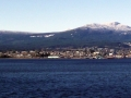 Nanaimo, BC with Mt. Benson in the background
